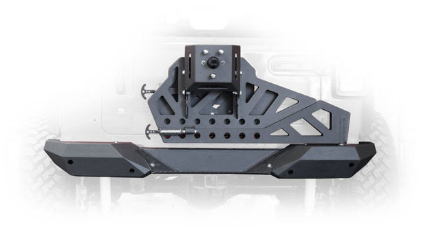 DV8 JEEP JL REAR BUMPER AND TIRE CARRIER