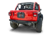 Jeep Spare Tire Delete Kit with Camera Housing