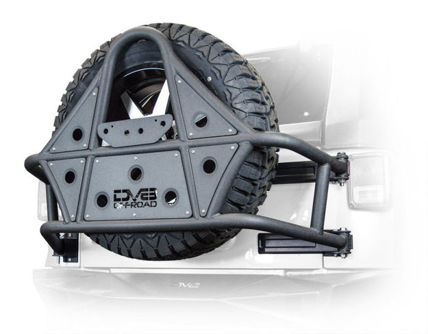 DV8 BODY MOUNTED TIRE CARRIER