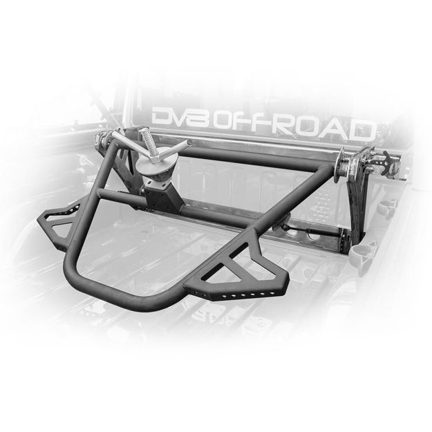 DV8 JEEP GLADIATOR IN-BED ADJUSTABLE TIRE CARRIER
