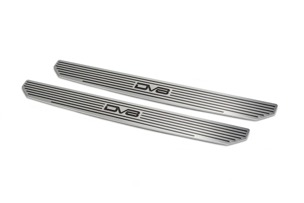 DV8 JEEP FRONT SILL PLATES WITH DV8 LOGO 2 OR 4 DOOR