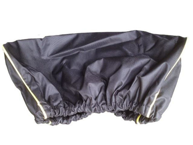 DV8 Offroad Black Winch Cover for use with the 12000lb winches