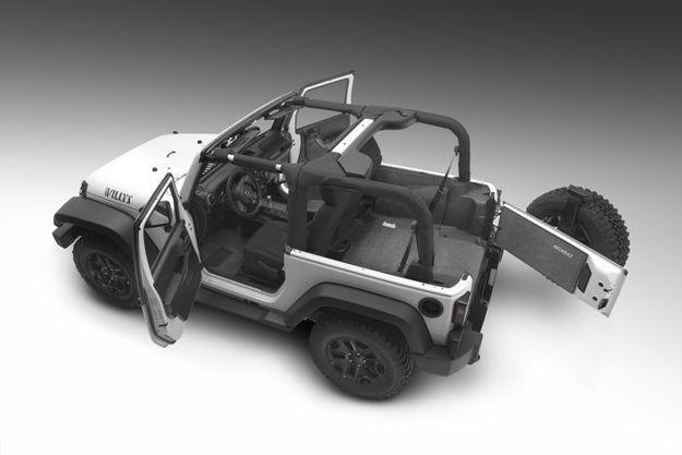 BedRug Jeep Floor Liners