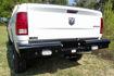 American Built Heavy Duty Pipe Rear Bumper