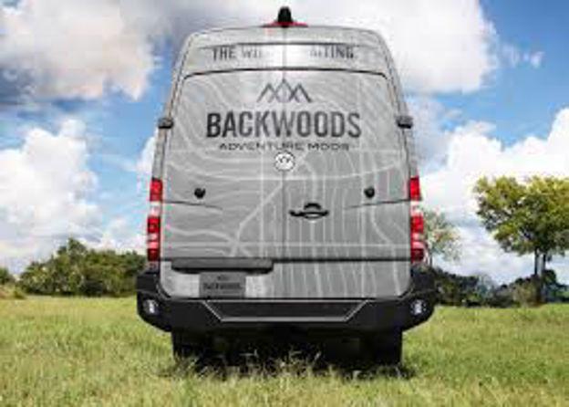 Backwoods Adventure — Sprinter Van Rear Bumper