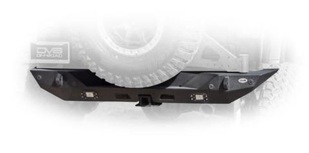 DV8 Jeep Rear Bumpers