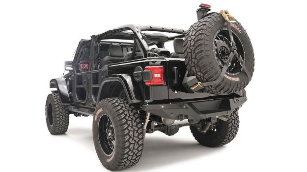 Fab Four – Jeep Rear Bumper
