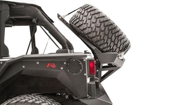 Fab Four – Slant Back Tire Carrier