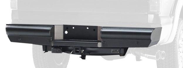 Fab Fours Black Steel Elite Rear Bumper (Superduty)