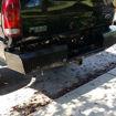 TrailFX HD Diamond Plate Rear Bumper
