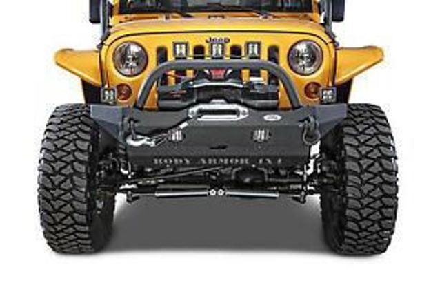 Body Armor – Wrangler Front Bumper Mid Stubby
