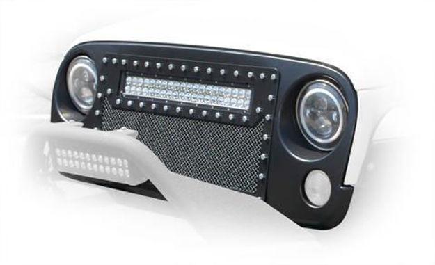 DV8 LED Grille Jeep