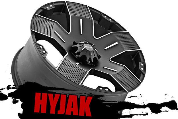 Ballistic Hyjak Wheels