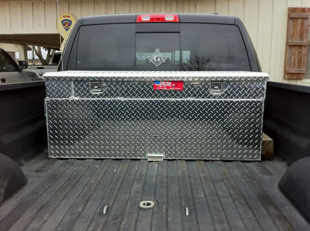 Picture of RDS Auxiliary Tank/Toolbox Combo