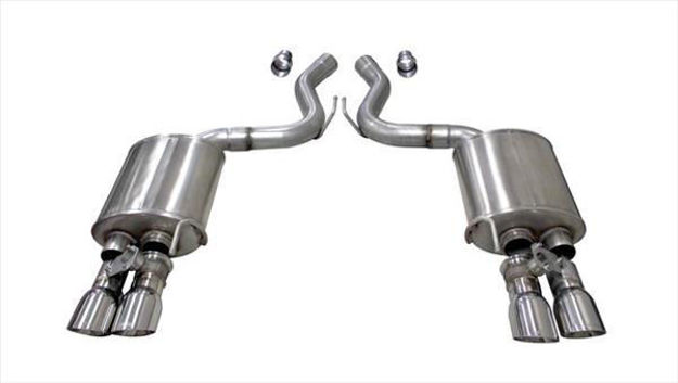 Corsa Performance — Sport Axle Back Exhaust System