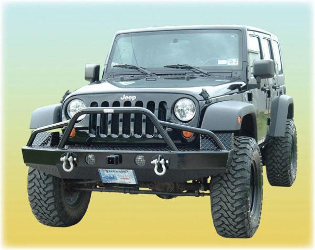 Ranch Hand Jeep Bullnose Bumper