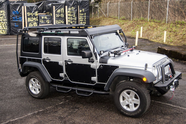 Warrior Products JK Full Side Armor