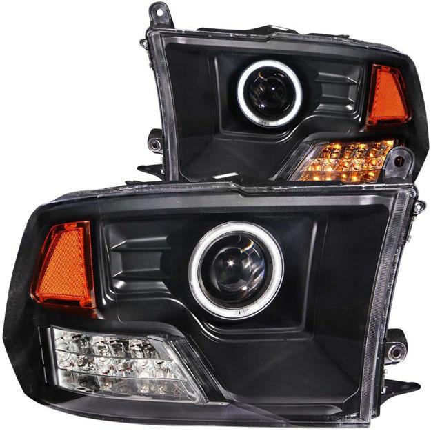 Anzo Projector Halo Headlights (Ram)