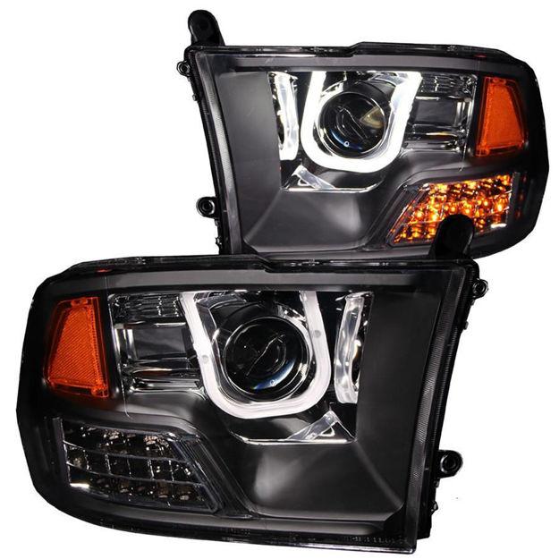 Anzo U Bar Projector Headlight Dodge Ram