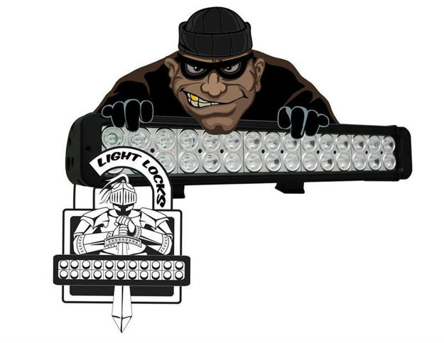 ICI Light Bar Locking Hardware